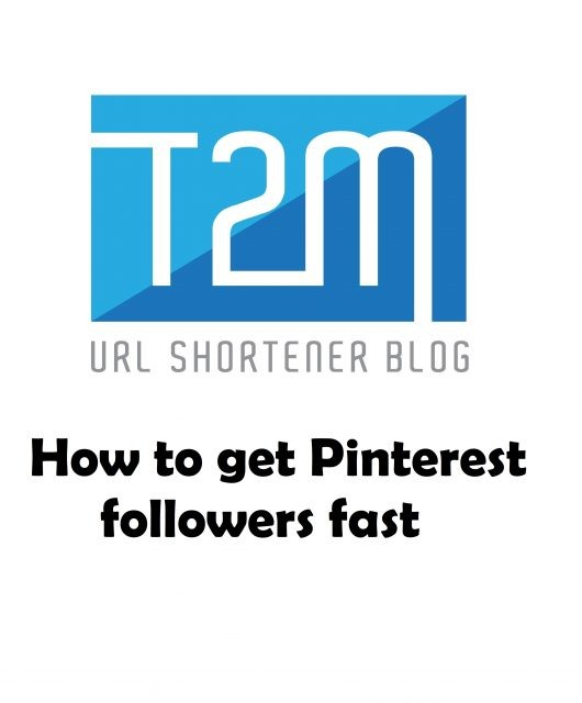 How to get Pinterest followers fast?