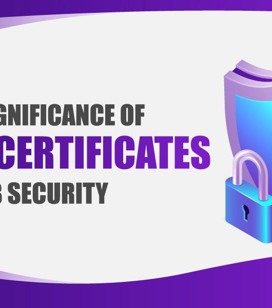 The Significance of SSL Certificates in Web Security